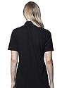 Unisex Organic Pique Polo Shirt NIGHT Back2