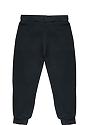 Toddler Fashion Fleece Jogger Sweatpant BLACK Back