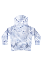 Toddler Fleece Cloud Tie Dye Pullover Hoodie INFINITY Front