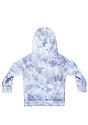 Toddler Fleece Cloud Tie Dye Pullover Hoodie INFINITY Back