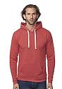 Unisex eco Triblend Fleece Pullover Hoodie  Front