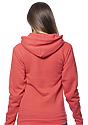 Unisex eco Triblend Fleece Pullover Hoodie  Side