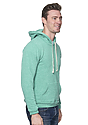Unisex eco Triblend Fleece Pullover Hoodie ECO TRI KELLY Back