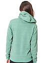 Unisex eco Triblend Fleece Pullover Hoodie ECO TRI KELLY Back2