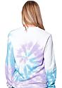 Unisex Swirl Tie Dye Crew Sweatshirt  4
