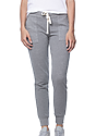 Women's Triblend French Terry Jogger Pant TRI VINTAGE GREY Front