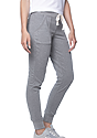 Women's Triblend French Terry Jogger Pant TRI VINTAGE GREY Side