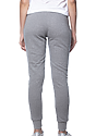 Women's Triblend French Terry Jogger Pant TRI VINTAGE GREY Back