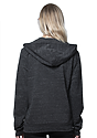 Unisex eco Triblend French Terry Full Zip Hoody  Back2