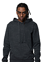 Unisex eco Triblend French Terry Pullover Hoody ECO TRI CHARCOAL front