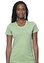 Women's Organic Short Sleeve Tee AVOCADO Front
