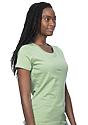 Women's Organic Short Sleeve Tee AVOCADO Side