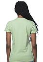 Women's Organic Short Sleeve Tee AVOCADO Back