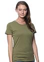 Women's Organic Short Sleeve Tee MOSS Side