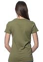 Women's Organic Short Sleeve Tee MOSS Back