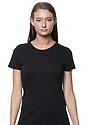 Women's Organic Short Sleeve Tee NIGHT Front