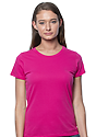 Women's Short Sleeve Tee FUCHSIA Front