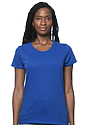 Women's Short Sleeve Tee ROYAL Front