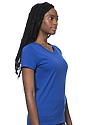Women's Short Sleeve Tee ROYAL Side