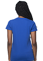 Women's Short Sleeve Tee ROYAL Back