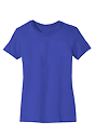 Women's Short Sleeve Tee ROYAL Laydown