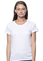 Women's Short Sleeve Tee WHITE Front