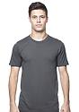Unisex Short Sleeve Tee ASPHALT Front