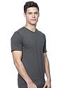Unisex Short Sleeve Tee ASPHALT Side