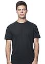 Unisex Short Sleeve Tee BLACK Front