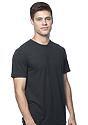 Unisex Short Sleeve Tee BLACK Back