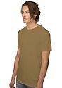 Unisex Short Sleeve Tee COYOTE BROWN Side