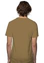 Unisex Short Sleeve Tee COYOTE BROWN Back