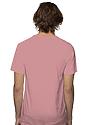 Unisex Short Sleeve Tee DESERT ROSE Back