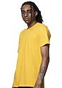 Unisex Short Sleeve Tee GOLD Side