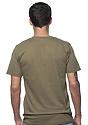 Unisex Short Sleeve Tee MILITARY GREEN Back