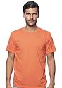 Unisex Short Sleeve Tee ORANGE Front