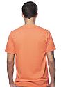 Unisex Short Sleeve Tee ORANGE Back