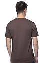 Unisex Organic Short Sleeve Tee BARK Back