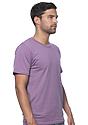 Unisex Organic Short Sleeve Tee EGGPLANT Back