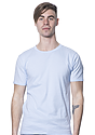 Unisex Organic Short Sleeve Tee HEAVEN Front