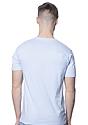 Unisex Organic Short Sleeve Tee HEAVEN Back