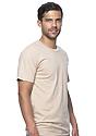 Unisex Organic Short Sleeve Tee MUSHROOM Side