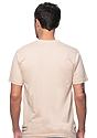 Unisex Organic Short Sleeve Tee MUSHROOM Back