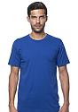 Unisex Organic Short Sleeve Tee NAUTICAL BLUE Front