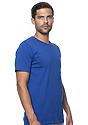 Unisex Organic Short Sleeve Tee NAUTICAL BLUE Side