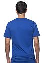 Unisex Organic Short Sleeve Tee NAUTICAL BLUE Back