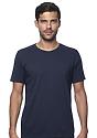 Unisex Organic Short Sleeve Tee OCEAN Front