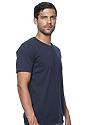 Unisex Organic Short Sleeve Tee OCEAN Side
