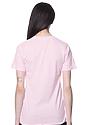 Unisex Short Sleeve Tee PINK Back