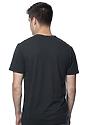 Unisex Union Short Sleeve Tee BLACK Back